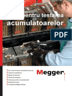 Megger - Ghid Pentru Testarea Acumulatoarelor