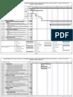 Cronograma de Avance de Obra Programado q