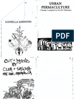 Guerilla Gardening - Urban Permaculture - 30pgs