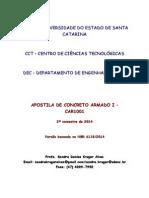 ALVES, 2014 (UDESC) - Apostila de Concreto Armado I
