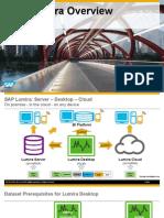 SAP Lumira Overview 1.17