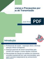 Biossegurança e Precauções Por Vias de Transmissão Aula 8
