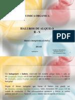 haluros de Alquilo 2014 II