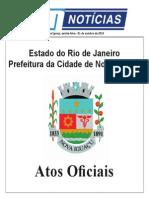 Atos Oficiais - Nova Iguaçu - 01/10/15