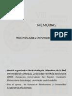 Seminario Nacional Familia Presentaciones