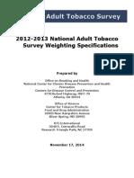 2012 13 Weighting Methodology