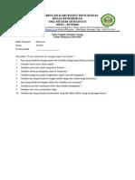 TP 2014-2015 - Soal Ujian Tengah Semester II Ekonomi - Essay