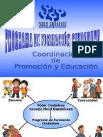 Presentación Programa de Formación Ciudadana