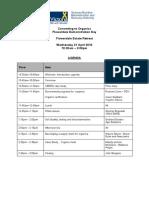 Final Agenda - Organic Farming Forum -- D10-26223