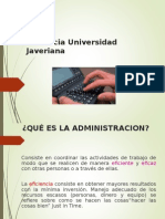 INTRODUCCIÓN A LA ADMON UNIVERSIDAD JAVERIANA.ppt