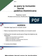 Políticas para la Inclusión Social en la República Dominicana