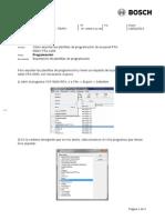 Como Exportar Las Plantillas de Programación de Un Panel FPA