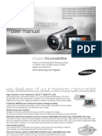 Samsung SMX-K40 English User Manual