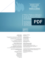 Saúde no sistema prisional Livro Politicas_publicas