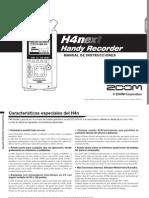 Zoom H4nSP Manual de Instrucciones (Spanish)