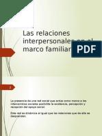 Lectura 5Las Relaciones Interpersonales en El Marco Familiar