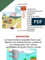 Lluvias Acidas- Ecologia 2013