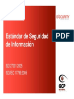 Estandares de La Seguridad de Informacion