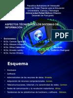 Aspectos Técnicos de Los Sistemas de Información