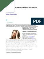 Dermatitis en Cuero Cabelludo