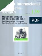 Revista Internacional de Ciencias Sociales UNESCO