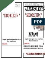 Label Alen Kecil Mbak Siti