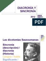 Diacronía - Sincronía -- Paradigma - Sintagma(1)