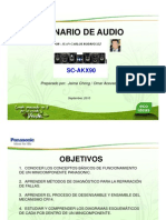 Entrenamiento SC-AKX90 Panasonic