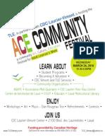 ACE Community Festival
