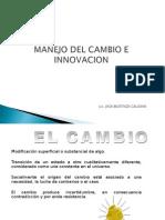Manejo Del Cambio e Innovacion
