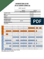 Calendário UFPA 2015