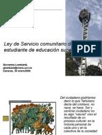 INDUCCION Estudiantes de Ciencias SCenero2008