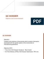 05. KPI - QC Dossier Submission