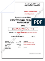 PSA2010 (RevA-2013) Specimen Agreement Document