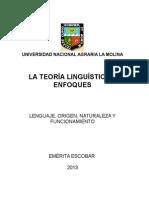 La Teoria Linguística y Los Enfoques. Lenguaje y Funcionamiento