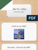 Alfa vs Lider