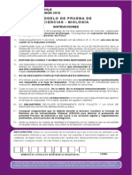 Ensayo PSU 2015 - Biología