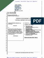 Gordon v. Bed Bath & Beyond - Honey Badger Don't Care complaint.pdf
