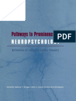 Neuropsychology a Twentieth-Century Science