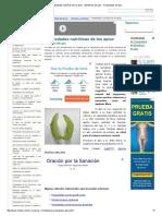 Propiedades Nutritivas de Los Apios __ Beneficios Del Apio __ Propiedades Del Apio