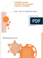 Afakia Dan Iol Foldable