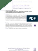 Desarrollo de la competencia matematica