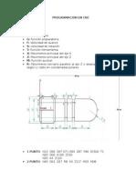Programación en CNC