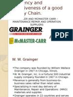 WW Grainger Mcmaster carr Case