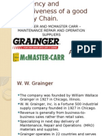 WW Grainger Mcmaster carr Case