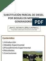 Diesel Biogás PPT