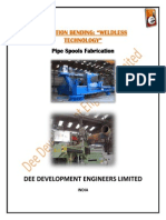 Introduction Pipe Bending