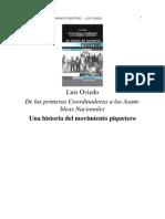 Una Historia Del Movimiento Piquetero Luis Oviedo