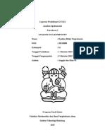 Laporan Praktikum KI 3121-Analisis Dua Komponen