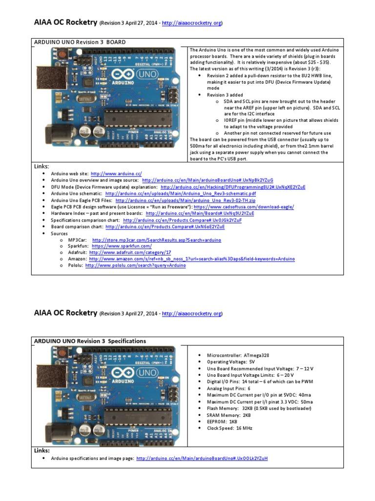 Arduino Uno Overview | Arduino | Computer Engineering